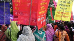 International Women's Day in Dhaka