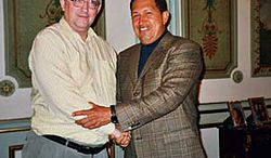 Alan Woods, Hugo Chavez