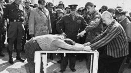 Buchenwald, Eisenhower, torture, demonstration