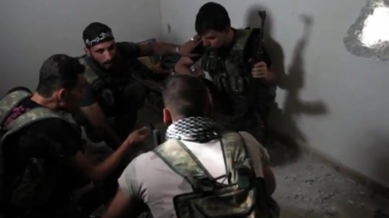 FSA_rebels_hold_a_planning_session