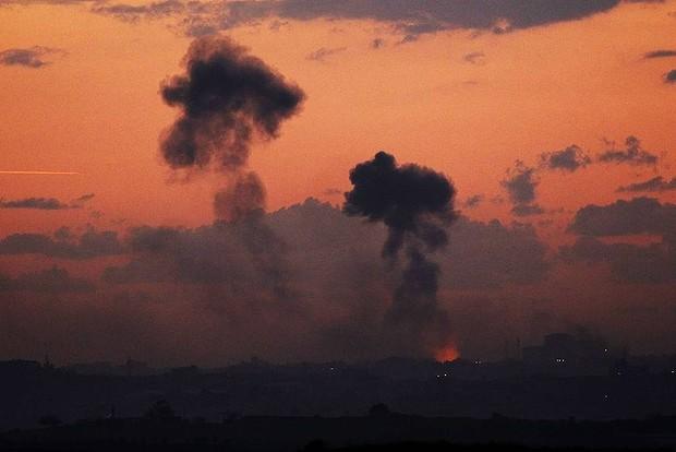 Israeli-airstrike-attacks-on-Gaza-Strip