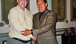 Alan Woods, Hugo Chavez