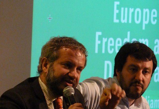 Matteo Salvini, no euro day