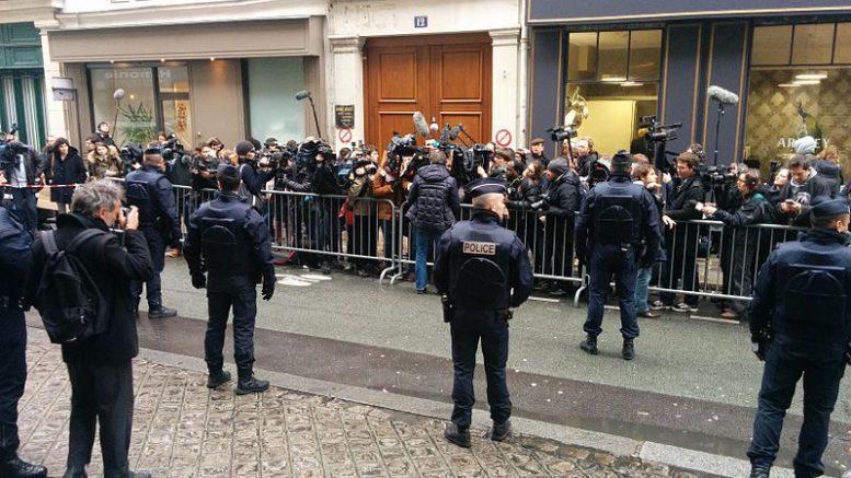 Arrivée Charlie Hebdo à Libération