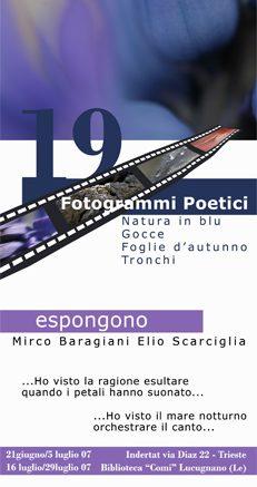 19 fotogrammi poetici