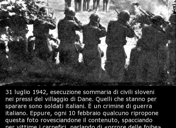 fascismo, Franc Žnidaršič, Janez Kranjc , Franc Škerbec, Feliks Žnidaršič, Edvard Škerbec, crimini fascisti in jugoslavia