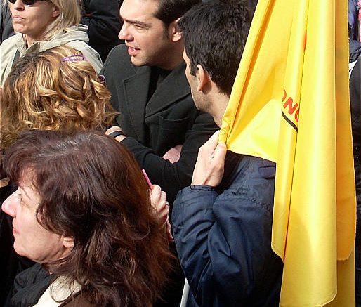 Tsipras, Grecia