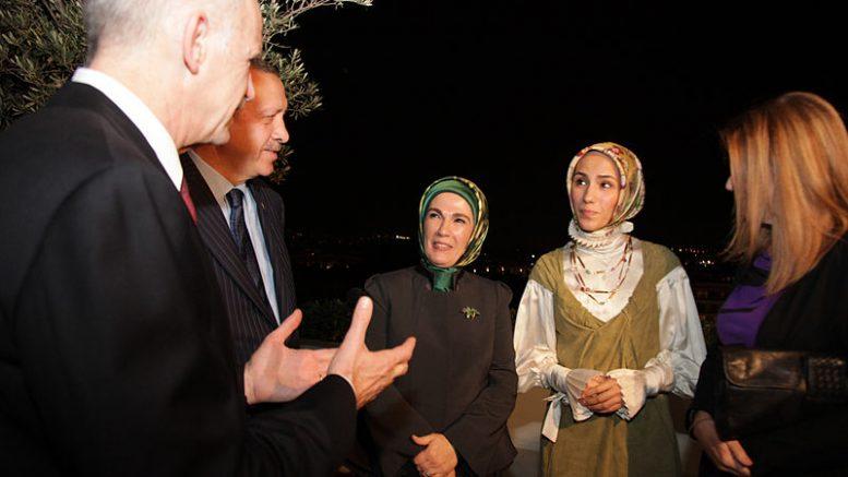 La famiglia Erdogan