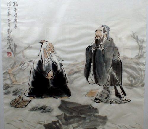 Confucio e Laozi